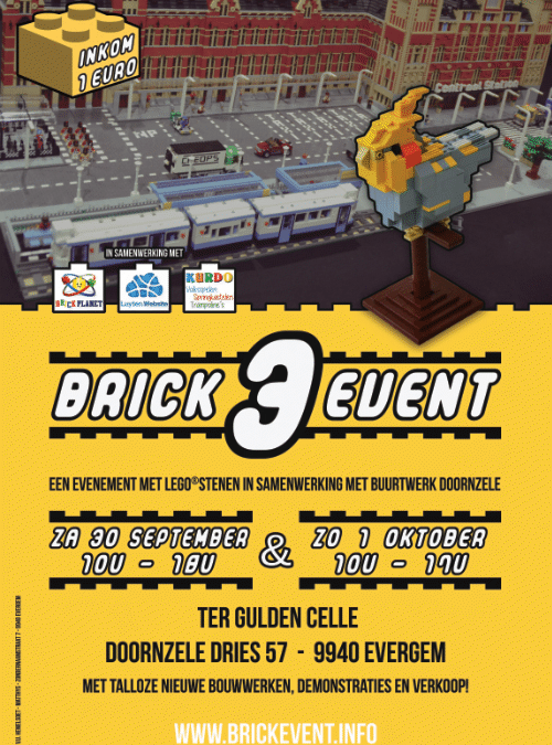 Brick Event 3 op 30 september en 1 oktober