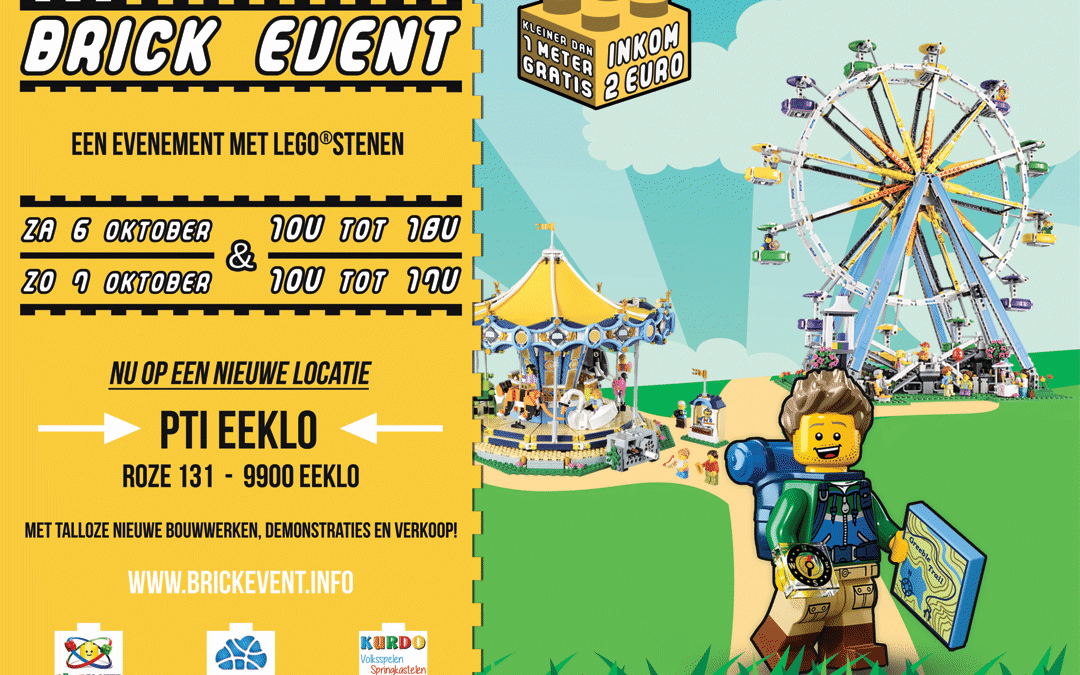 Brick Event 4: 6 en 7 oktober in Eeklo