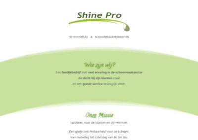 ShinePro: Schoonmaak en Schoonmaakproducten