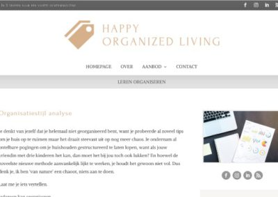 Happy Organized Living