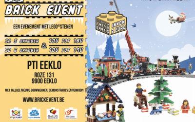 Brick Event: De leukste LEGO beurs van België: 5 en 6 oktober