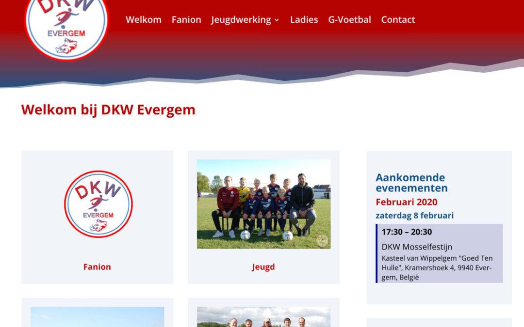 Nieuwe website voor DKW Evergem