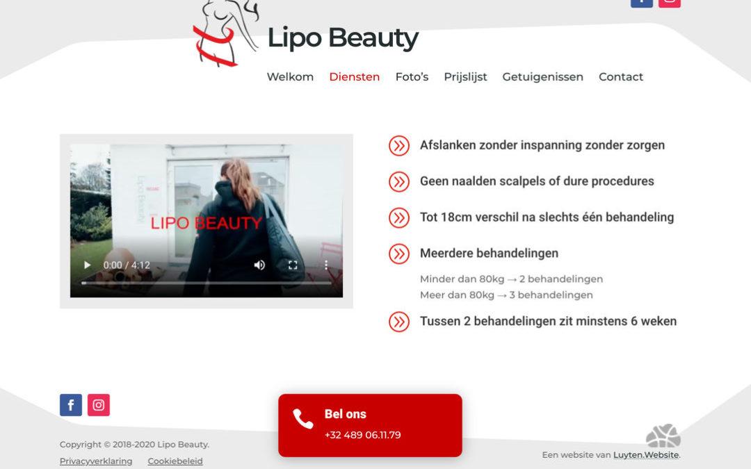 Lipo Beauty in het nieuw