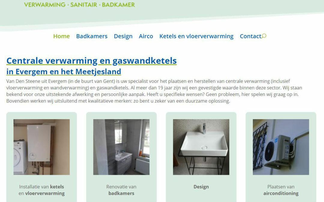 Van den Steene Branko: Verwarming – Sanitair – Badkamers